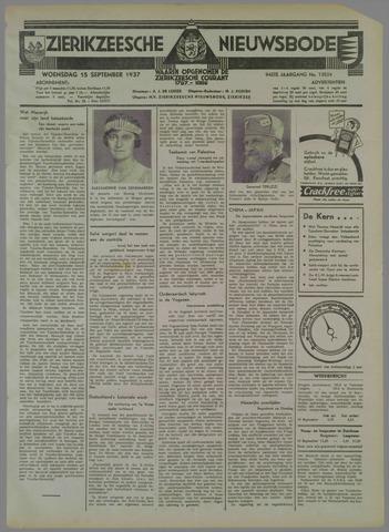 Zierikzeesche Nieuwsbode 1937-09-15