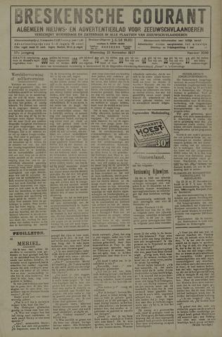 Breskensche Courant 1927-11-23