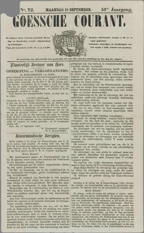 Goessche Courant 1864-09-19