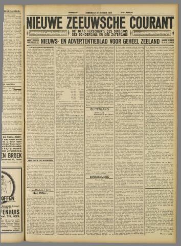 Nieuwe Zeeuwsche Courant 1928-10-25