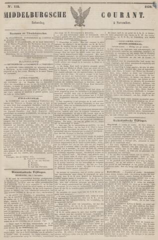 Middelburgsche Courant 1850-11-02
