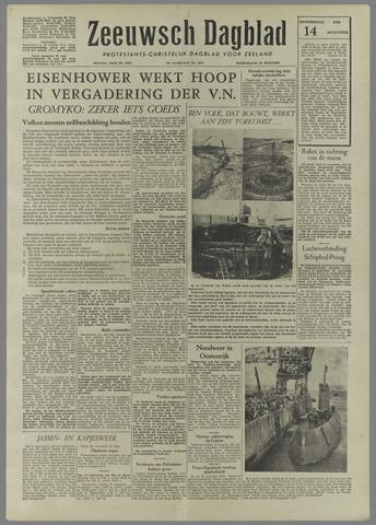 Zeeuwsch Dagblad 1958-08-14
