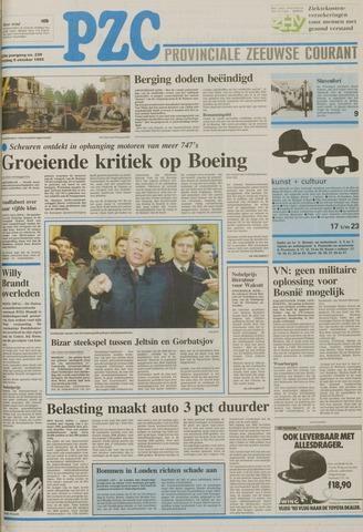 Provinciale Zeeuwse Courant 1992-10-09