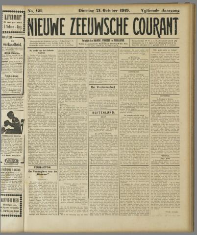 Nieuwe Zeeuwsche Courant 1919-10-21