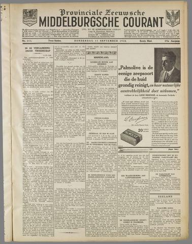 Middelburgsche Courant 1930-09-11