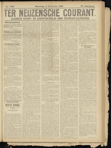 Ter Neuzensche Courant. Algemeen Nieuws- en Advertentieblad voor Zeeuwsch-Vlaanderen / Neuzensche Courant ... (idem) / (Algemeen) nieuws en advertentieblad voor Zeeuwsch-Vlaanderen 1923-11-12