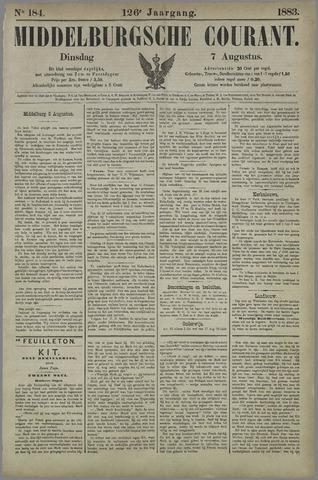 Middelburgsche Courant 1883-08-07