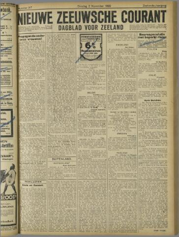 Nieuwe Zeeuwsche Courant 1920-11-02
