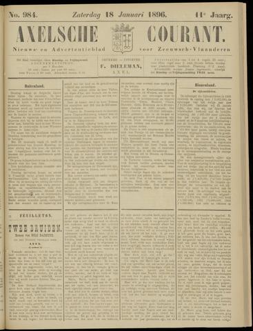 Axelsche Courant 1896-01-18