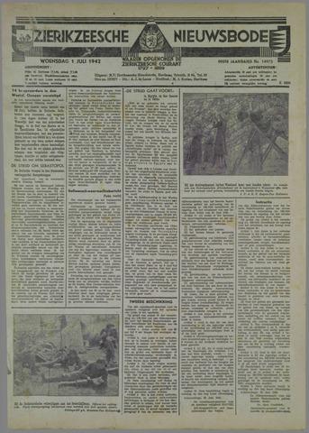 Zierikzeesche Nieuwsbode 1942-07-01