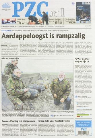 Provinciale Zeeuwse Courant 2010-11-18