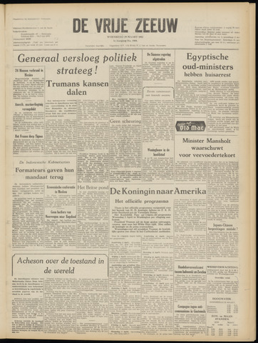 de Vrije Zeeuw 1952-03-19
