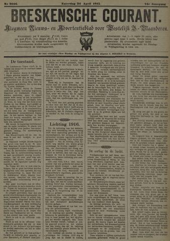 Breskensche Courant 1915-04-24