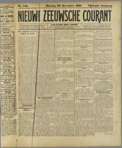 Nieuwe Zeeuwsche Courant 1919-12-30