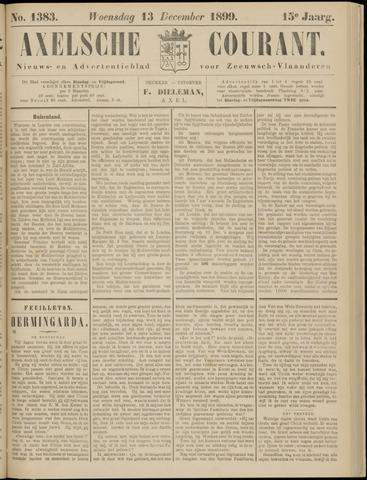 Axelsche Courant 1899-12-13