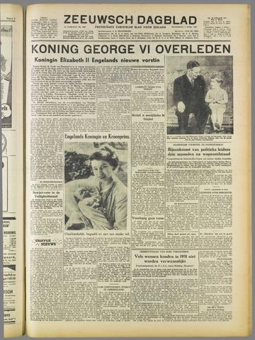 Zeeuwsch Dagblad 1952-02-07