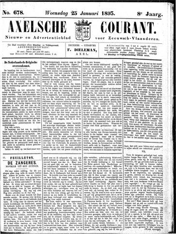 Axelsche Courant 1893-01-25