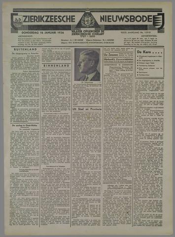 Zierikzeesche Nieuwsbode 1936-01-16