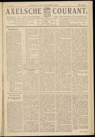 Axelsche Courant 1933-10-17