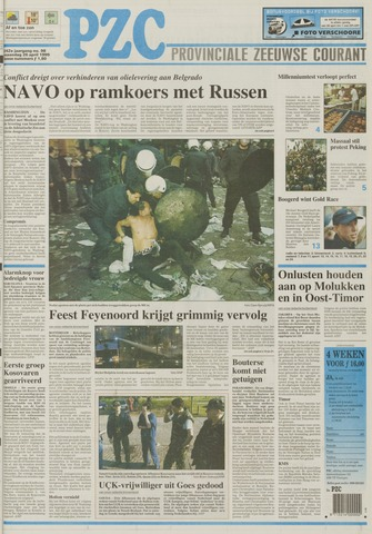 Provinciale Zeeuwse Courant 1999-04-26