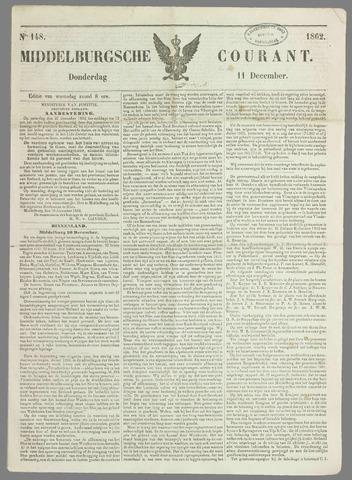Middelburgsche Courant 1862-12-11