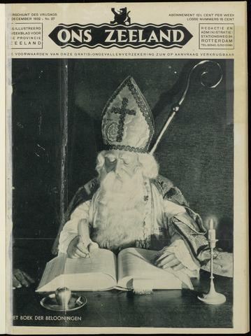Ons Zeeland / Zeeuwsche editie 1932-12-02