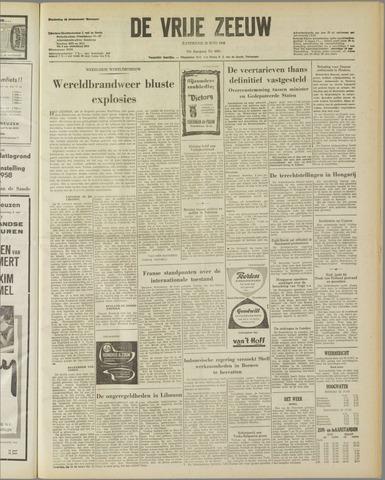 de Vrije Zeeuw 1958-06-28