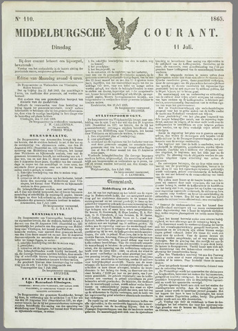 Middelburgsche Courant 1865-07-11