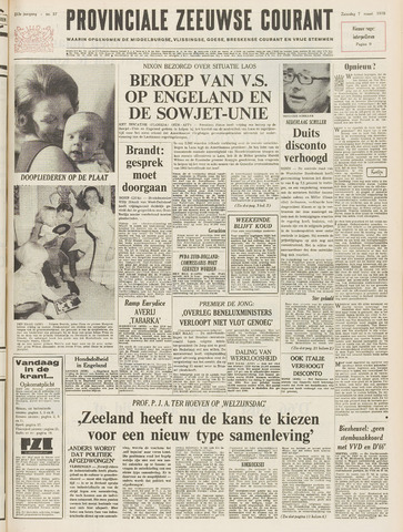 Provinciale Zeeuwse Courant 1970-03-07