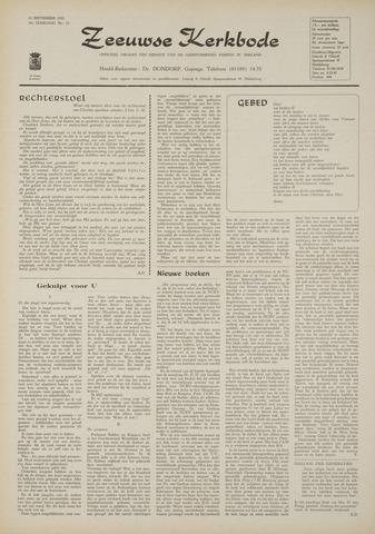 Zeeuwsche kerkbode, weekblad gewijd aan de belangen der gereformeerde kerken/ Zeeuwsch kerkblad 1970-09-24