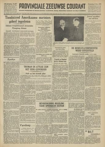 Provinciale Zeeuwse Courant 1950-12-06