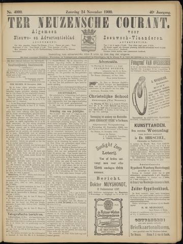 Ter Neuzensche Courant. Algemeen Nieuws- en Advertentieblad voor Zeeuwsch-Vlaanderen / Neuzensche Courant ... (idem) / (Algemeen) nieuws en advertentieblad voor Zeeuwsch-Vlaanderen 1900-11-24
