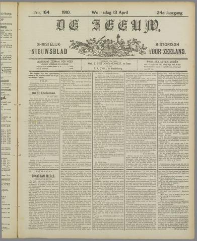 De Zeeuw. Christelijk-historisch nieuwsblad voor Zeeland 1910-04-13