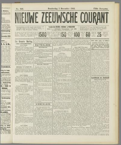 Nieuwe Zeeuwsche Courant 1915-12-02