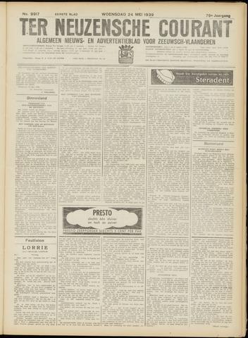 Ter Neuzensche Courant. Algemeen Nieuws- en Advertentieblad voor Zeeuwsch-Vlaanderen / Neuzensche Courant ... (idem) / (Algemeen) nieuws en advertentieblad voor Zeeuwsch-Vlaanderen 1939-05-24