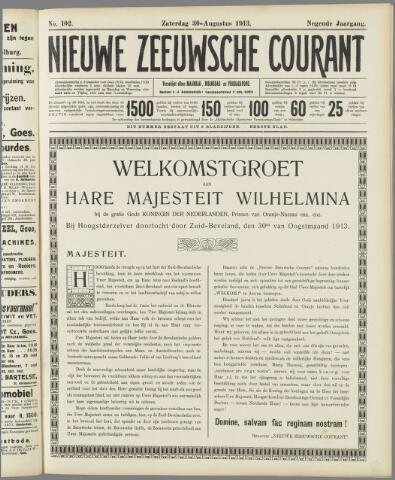 Nieuwe Zeeuwsche Courant 1913-08-30