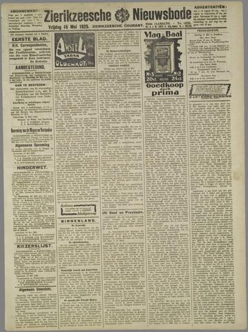 Zierikzeesche Nieuwsbode 1925-05-15