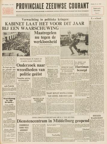 Provinciale Zeeuwse Courant 1968-05-14