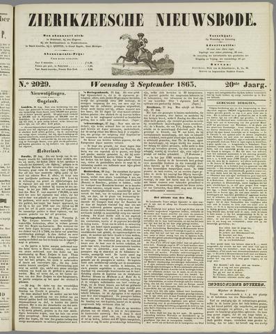 Zierikzeesche Nieuwsbode 1863-09-02