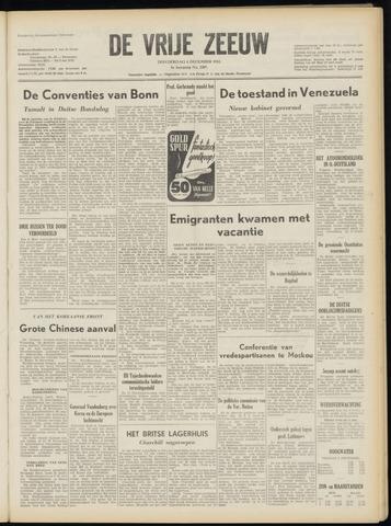 de Vrije Zeeuw 1952-12-04