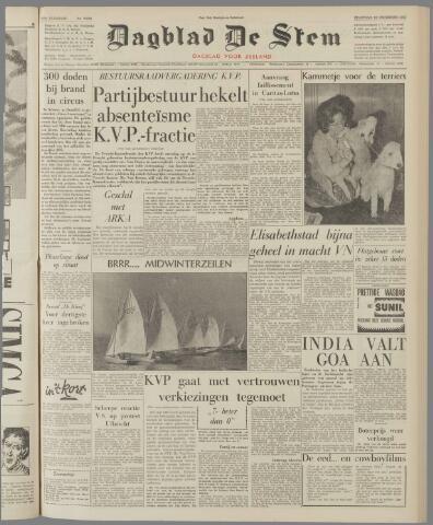 de Stem 1961-12-18