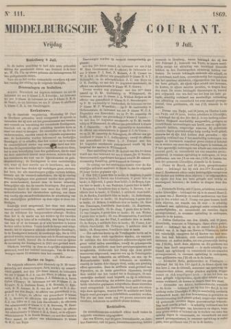 Middelburgsche Courant 1869-07-10