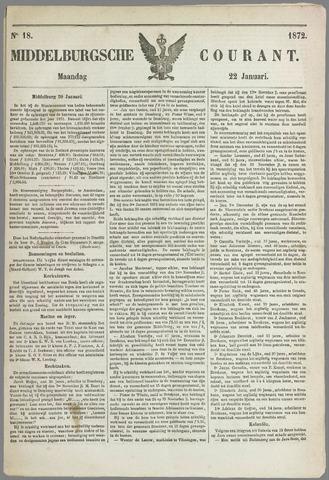 Middelburgsche Courant 1872-01-22