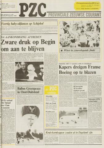 Provinciale Zeeuwse Courant 1983-08-29