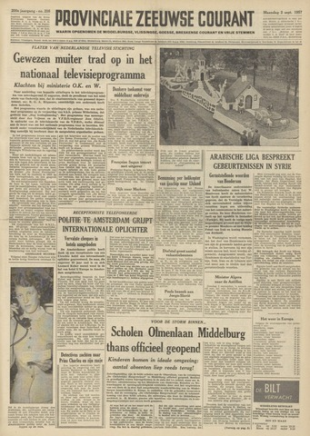 Provinciale Zeeuwse Courant 1957-09-02