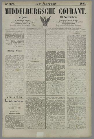 Middelburgsche Courant 1882-11-10