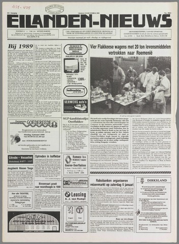 Eilanden-nieuws. Christelijk streekblad op gereformeerde grondslag 1989-12-29