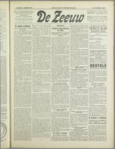 De Zeeuw. Christelijk-historisch nieuwsblad voor Zeeland 1937-08-07