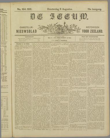 De Zeeuw. Christelijk-historisch nieuwsblad voor Zeeland 1901-08-08