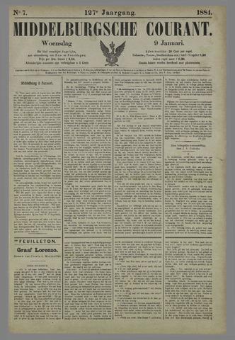 Middelburgsche Courant 1884-01-09